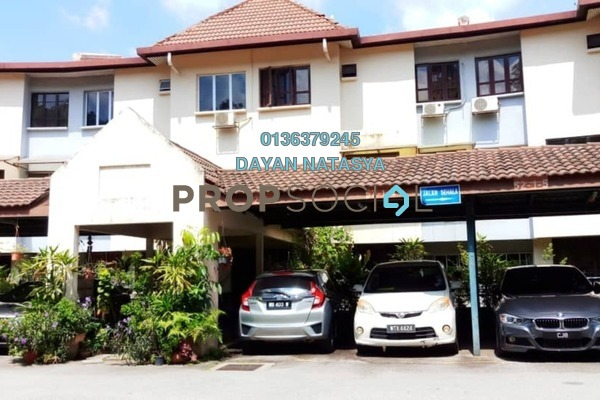 For Sale Townhouse at Sri Ayu, Setiawangsa Freehold Semi Furnished 4R/0B 650k