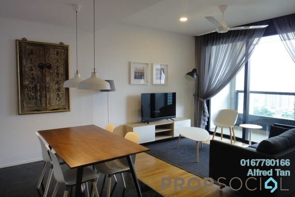 For Rent Serviced Residence at Arcoris, Mont Kiara Freehold Fully Furnished 2R/2B 4.8k