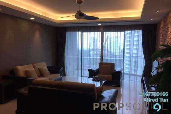 For Rent Condominium at 28 Mont Kiara, Mont Kiara Freehold Semi Furnished 4R/3B 12k
