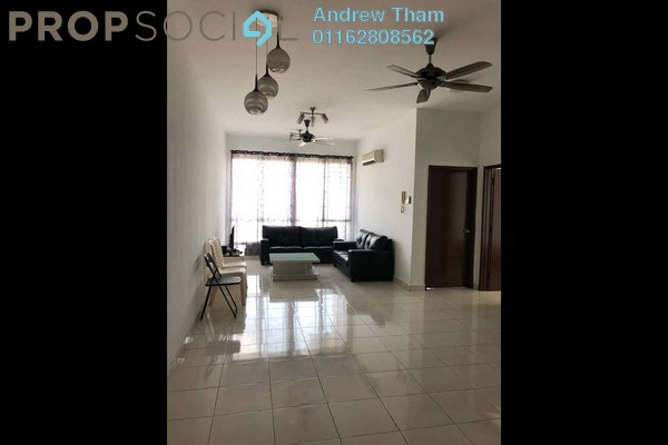 For Rent Condominium at Casa Tiara, Subang Jaya Freehold Fully Furnished 3R/2B 1.9k