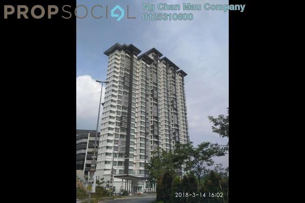 For Sale Condominium at V'Residence, Cyberjaya Leasehold Semi Furnished 3R/0B 374k