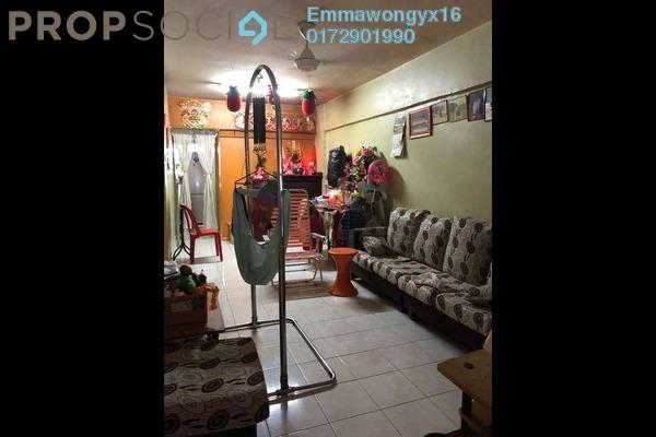 For Sale Apartment at Mutiara Fadason, Jinjang Freehold Semi Furnished 2R/1B 180k