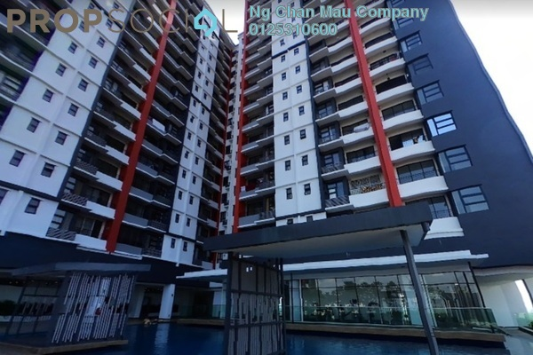 For Sale Apartment at D'Aman Residences, Puchong Freehold Semi Furnished 3R/0B 284k