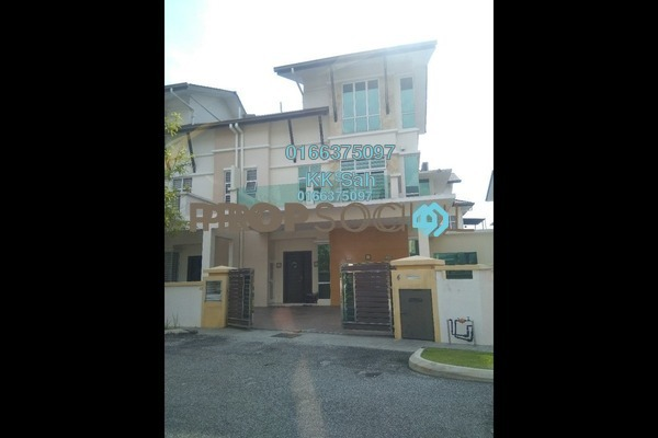 For Sale Semi-Detached at Casa Residence, Bandar Mahkota Cheras Freehold Semi Furnished 6R/5B 1.39m