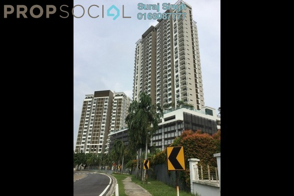 For Rent Condominium at Putra Residence, Putra Heights Freehold Semi Furnished 3R/2B 2.1k