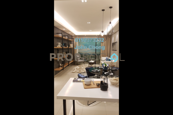 For Sale Condominium at Lemanja, Kepong Freehold Semi Furnished 3R/2B 505k