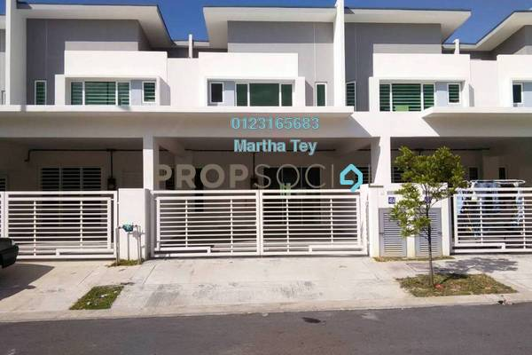 For Sale Terrace at Dextora, Bandar Sri Sendayan Freehold Unfurnished 4R/4B 490k