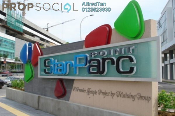 For Rent Shop at StarParc Point, Setapak Freehold Semi Furnished 0R/2B 2.3k