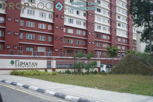 For Rent Apartment at The Lumayan, Bandar Sri Permaisuri Freehold Semi Furnished 3R/2B 1.35k