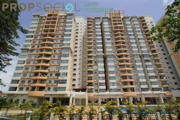 For Sale Condominium at Dynasty Garden, Kuchai Lama Freehold Fully Furnished 3R/2B 500k