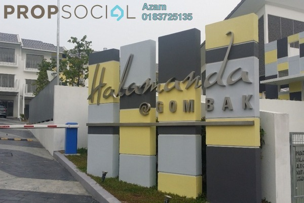 For Rent Superlink at Halamanda, Gombak Freehold Fully Furnished 4R/5B 2.9k