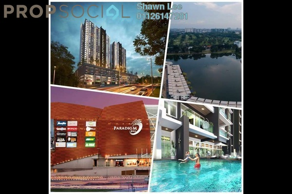 For Sale Condominium at SS7, Kelana Jaya Freehold Unfurnished 3R/2B 550k