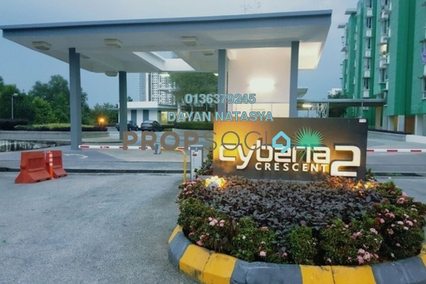 For Sale Condominium at Cyberia Crescent 2, Cyberjaya Freehold Fully Furnished 3R/2B 360k