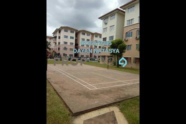 For Sale Apartment at Teratai Apartment, Bandar Mahkota Cheras Freehold Unfurnished 3R/2B 235k