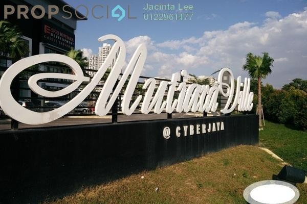 For Sale Serviced Residence at Mutiara Ville, Cyberjaya Freehold Semi Furnished 1R/1B 186k