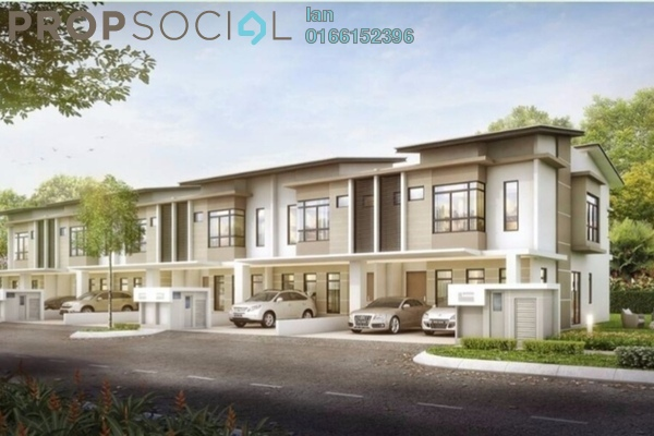 For Sale Terrace at Maple Residence @ Laman View, Cyberjaya Freehold Semi Furnished 4R/4B 799k