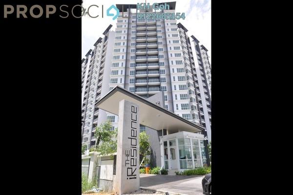 For Sale Condominium at The iResidence, Bandar Mahkota Cheras Freehold Semi Furnished 3R/2B 484k