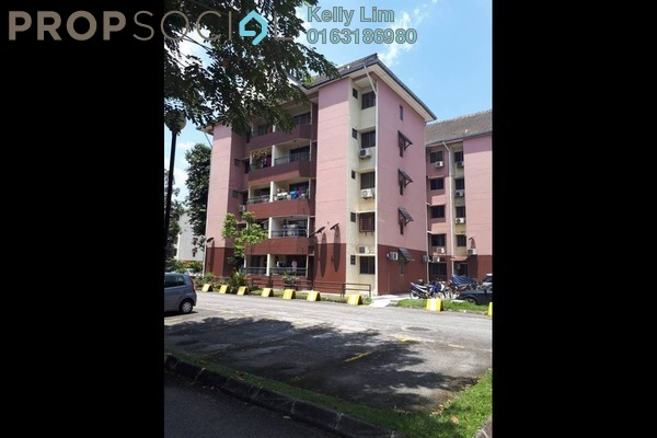 For Sale Apartment at 1A Pinang, Old Klang Road Leasehold Semi Furnished 3R/2B 295k