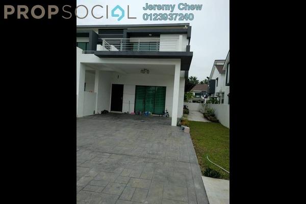 For Sale Semi-Detached at Sanctuary Garden, Bukit Mertajam Freehold Fully Furnished 4R/3B 860k