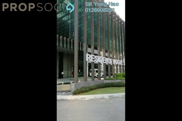 For Rent Condominium at Vogue Suites One @ KL Eco City, Mid Valley City Freehold Semi Furnished 2R/2B 4.5k