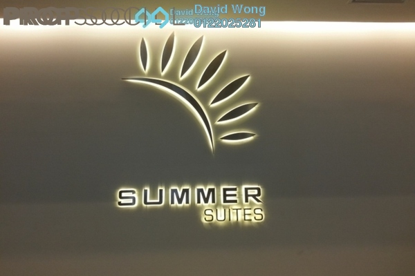 For Sale Condominium at Summer Suites, KLCC Freehold Fully Furnished 2R/1B 850k