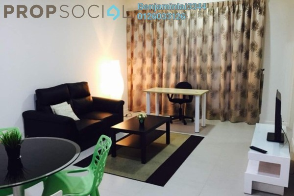 For Rent Serviced Residence at Jaya One, Petaling Jaya Freehold Fully Furnished 2R/1B 2.4k