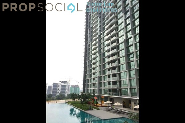 For Rent Condominium at The Z Residence, Bukit Jalil Freehold Semi Furnished 3R/2B 1.7k
