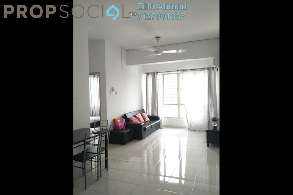 For Rent Serviced Residence at e-Tiara, Subang Jaya Freehold Fully Furnished 2R/1B 1.5k