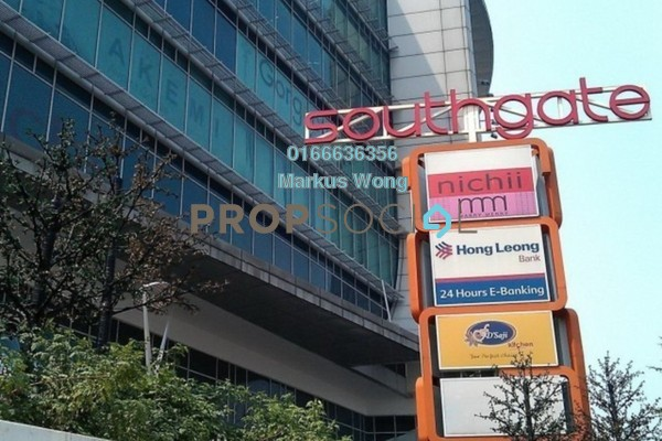 For Rent Office at Southgate, Sungai Besi Freehold Unfurnished 0R/0B 2.8k