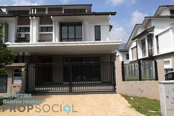 For Sale Terrace at Saffron Hills, Denai Alam Freehold Unfurnished 4R/3B 900k