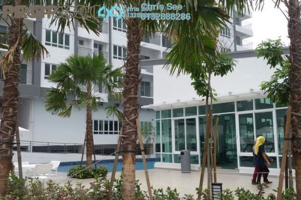 For Sale Condominium at Casa Tropika, Puchong Freehold Semi Furnished 3R/2B 408k