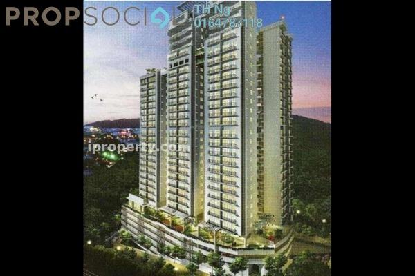 For Sale Condominium at Meridien Residence, Sungai Ara Freehold Semi Furnished 4R/2B 680k