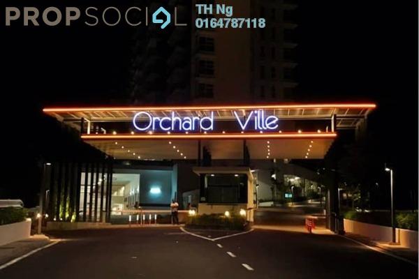 For Sale Condominium at Orchard Ville, Sungai Ara Freehold Semi Furnished 3R/2B 650k