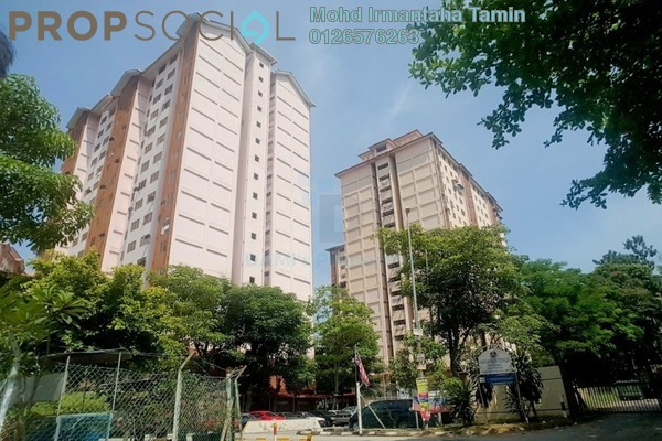 For Sale Apartment at Teratak Muhibbah Apartment, Taman Desa Freehold Unfurnished 3R/2B 165k