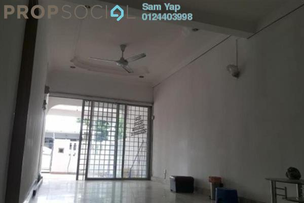 For Rent Terrace at Taman Sri Indah, Air Itam Freehold Semi Furnished 3R/2B 1k