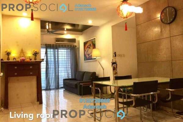 For Sale Apartment at Menara Menjalara, Bandar Menjalara Freehold Fully Furnished 3R/2B 430k