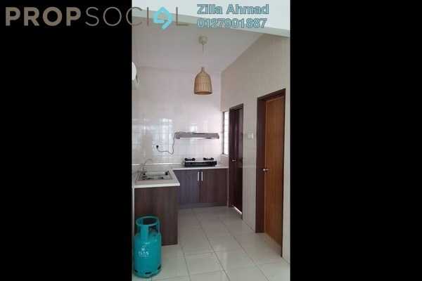 For Rent Serviced Residence at Casa Tiara, Subang Jaya Freehold Semi Furnished 3R/2B 1.5k