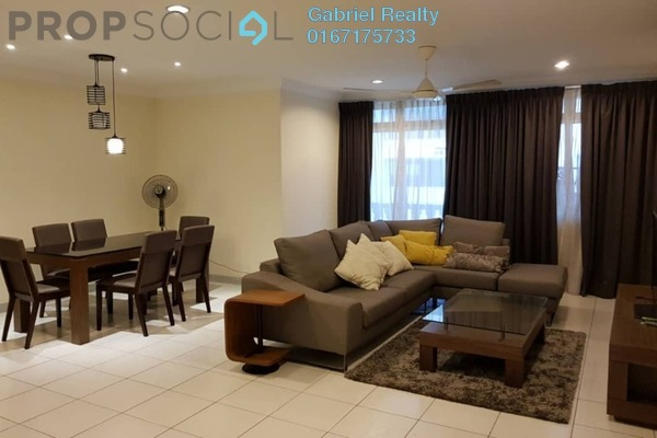 For Rent Condominium at City Gardens, Bukit Ceylon Freehold Fully Furnished 3R/2B 3.4k