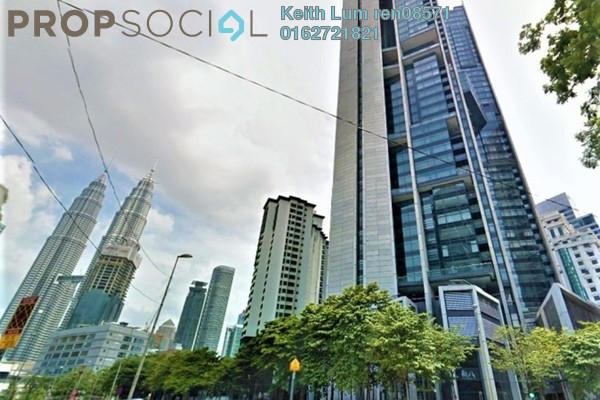 For Sale Condominium at The Troika, KLCC Freehold Unfurnished 3R/3B 2.36m