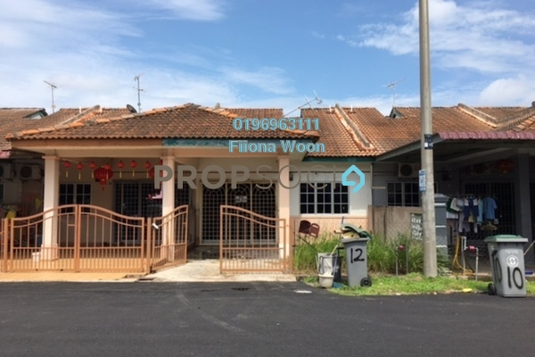 For Sale Terrace at Taman Pulau Gadong, Klebang Leasehold Unfurnished 3R/2B 265k