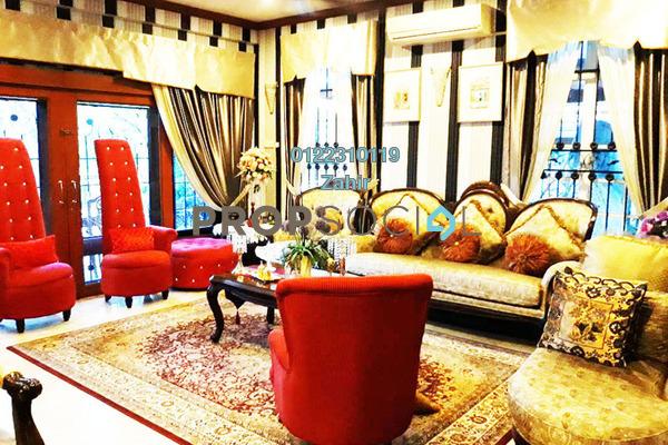 For Sale Bungalow at Seksyen 4, Bandar Baru Bangi Freehold Fully Furnished 5R/5B 1.85m