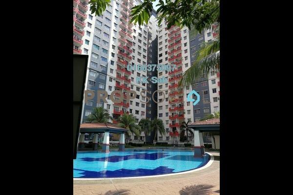 For Rent Condominium at Taman Pinggiran Putra, Bandar Putra Permai Freehold Semi Furnished 3R/2B 1k