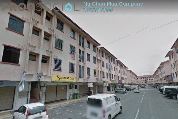 For Sale Apartment at Taman Suria Shop Apartment, Penampang Freehold Semi Furnished 3R/0B 118k
