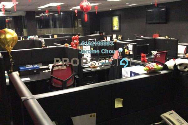 For Rent Office at Plaza Sentral, KL Sentral Freehold Fully Furnished 1R/1B 14.4千