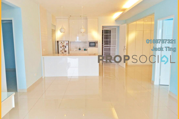 For Sale Condominium at Platinum Hill PV2, Setapak Freehold Semi Furnished 3R/2B 720k