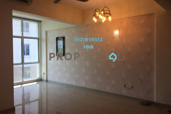 For Rent Condominium at Nilam Puri, Bandar Bukit Puchong Freehold Semi Furnished 3R/2B 1.3k