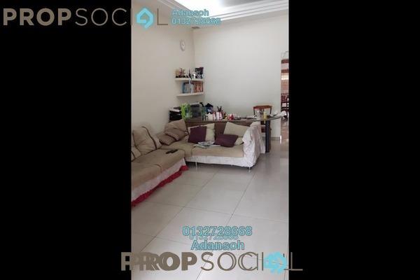 For Sale Terrace at Kepong Baru, Kepong Freehold Semi Furnished 3R/2B 665k