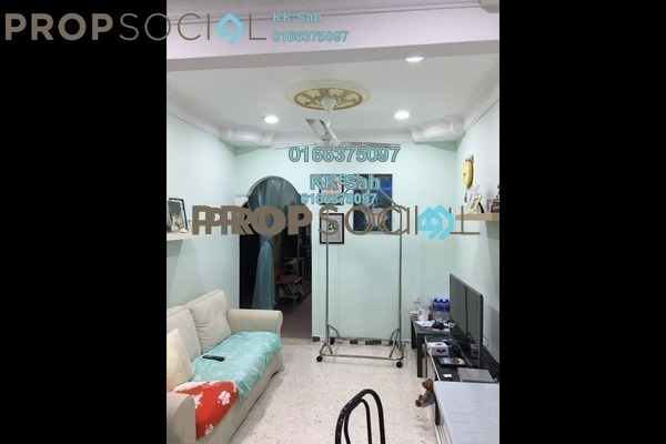 For Sale Terrace at Taman Sentosa, Klang Freehold Semi Furnished 3R/2B 355k