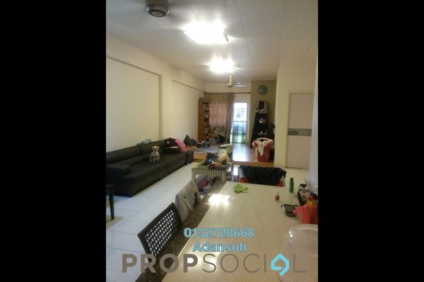 For Sale Apartment at Fortune Avenue, Kepong Freehold Semi Furnished 3R/2B 490k