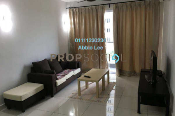 For Rent Condominium at Aurora Residence @ Lake Side City, Puchong Freehold Fully Furnished 3R/2B 1.6k